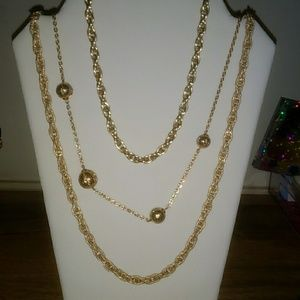 Vintage 3 layers necklace